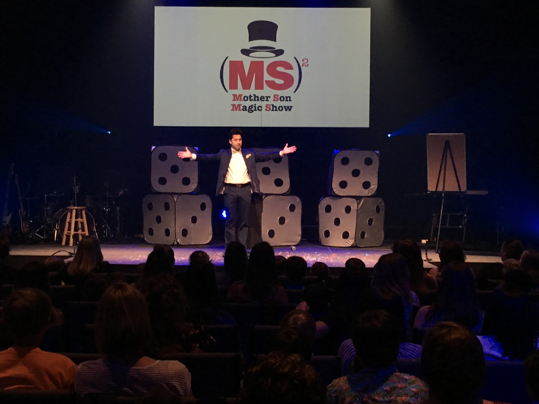 Mother-SonMagic Show - In 2018 we landed on a great event for moms and sons. Michael Rosander gave us a night of laughter and magic and we hope to do it again in 2019. Look for details in the spring.