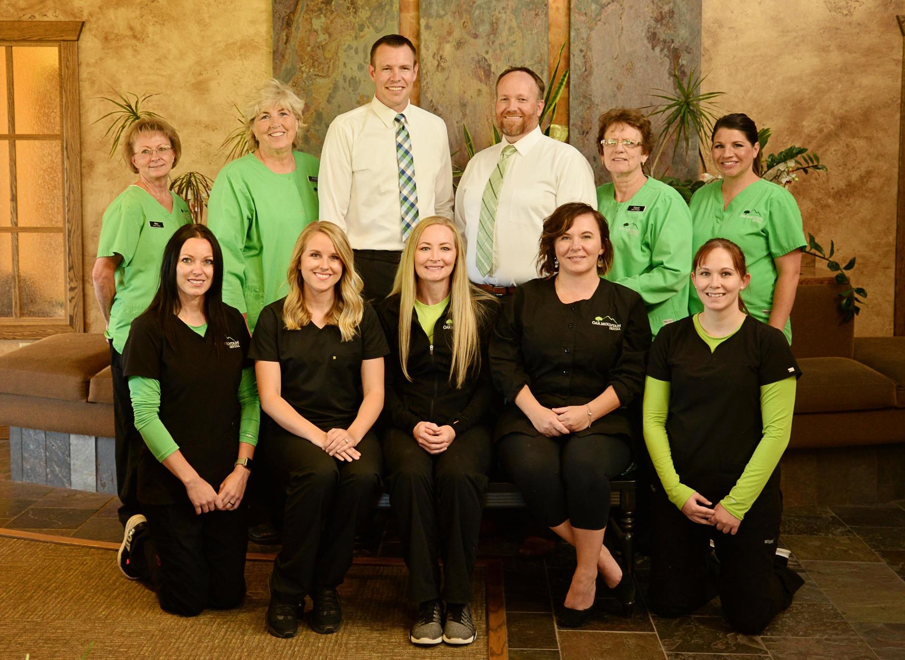 The team of Oak Mountain Dental in Pocatello, Idaho