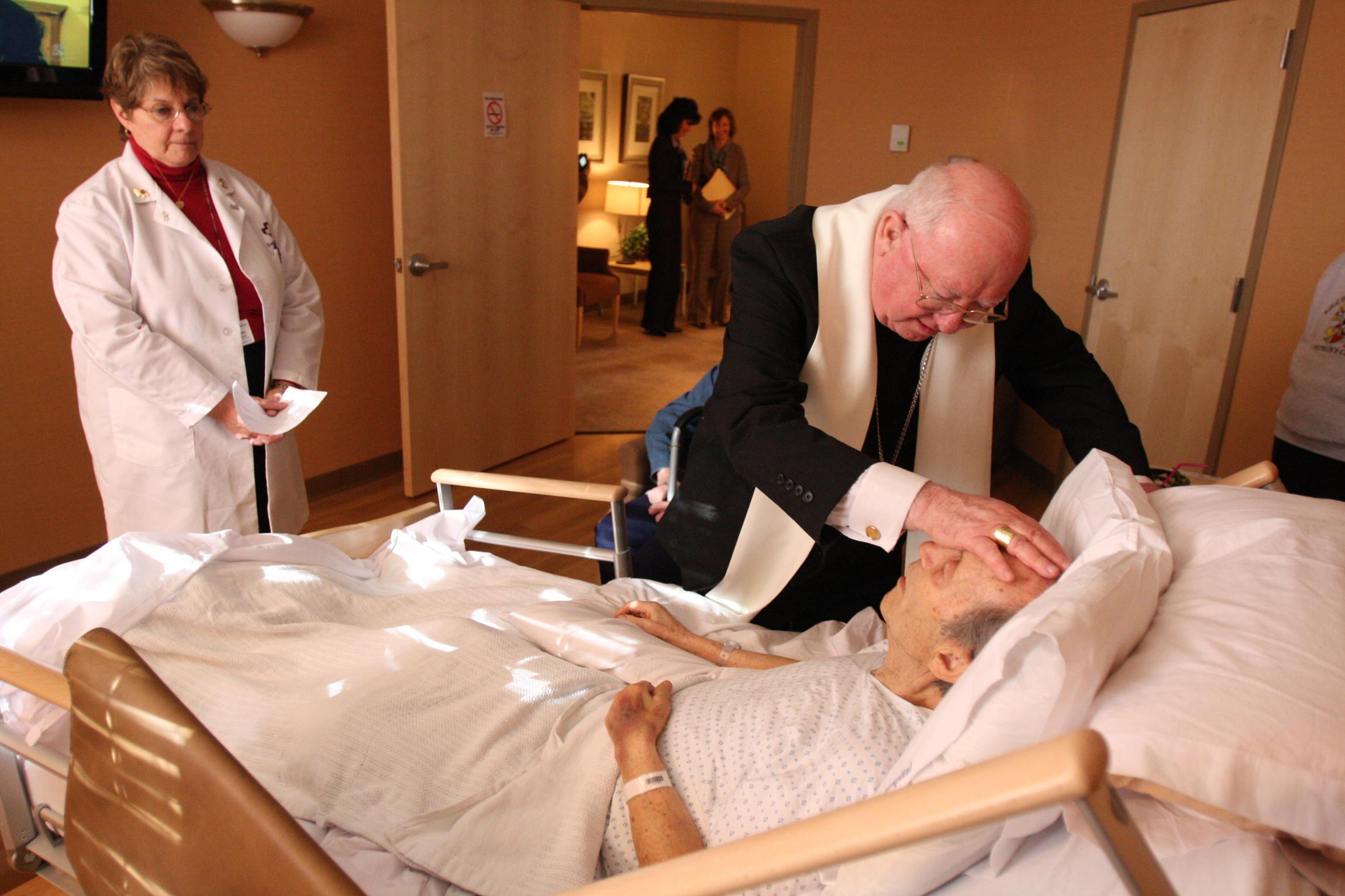 Podelitev bolniškega maziljenja (foto: splet)
