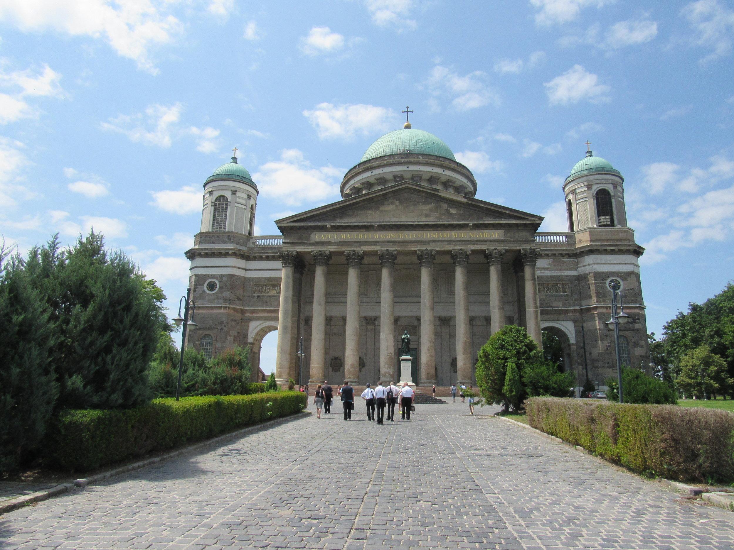 Katedrala in bazilika v Esztergomu