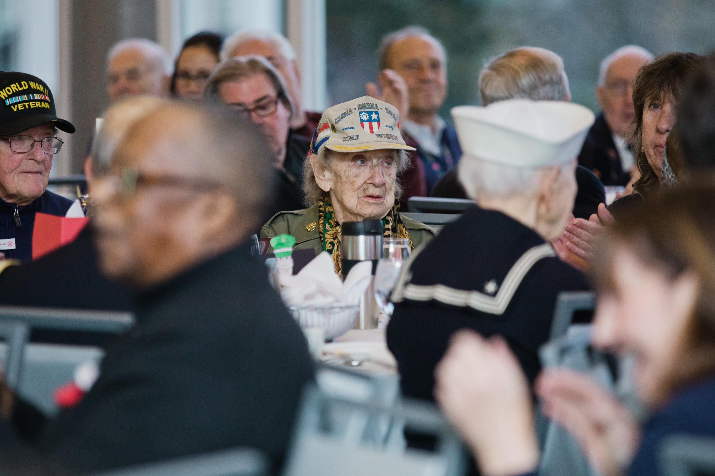 Veterans Day Breakfast - Underwrite the attendance of five veterans as we honor them at our annual Veterans Day Breakfast.$50+