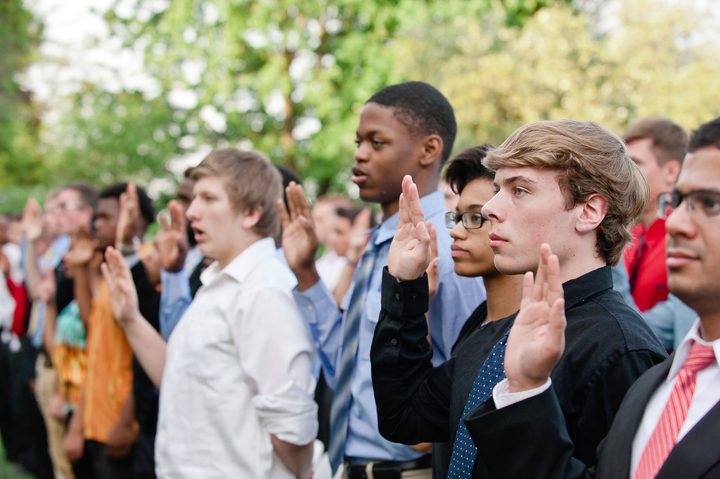 Our Community Salutes - Help sponsor our ceremony honoring new high school graduates enlisting in the U. S. Armed Forces.$250+