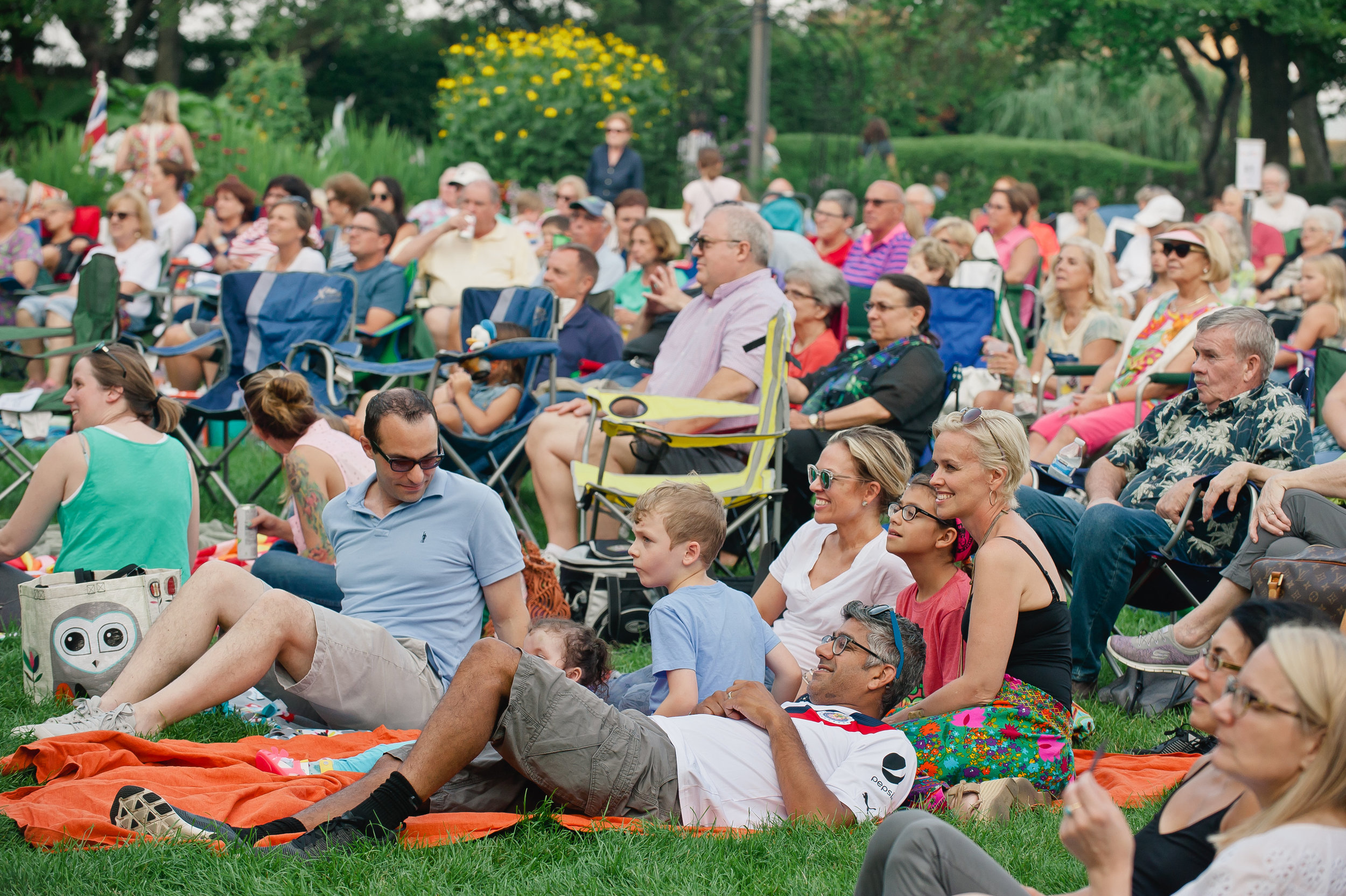 SummerFest - Sponsor a live performance or film presentation at SummerFest, our free annual festival of the arts.$500+