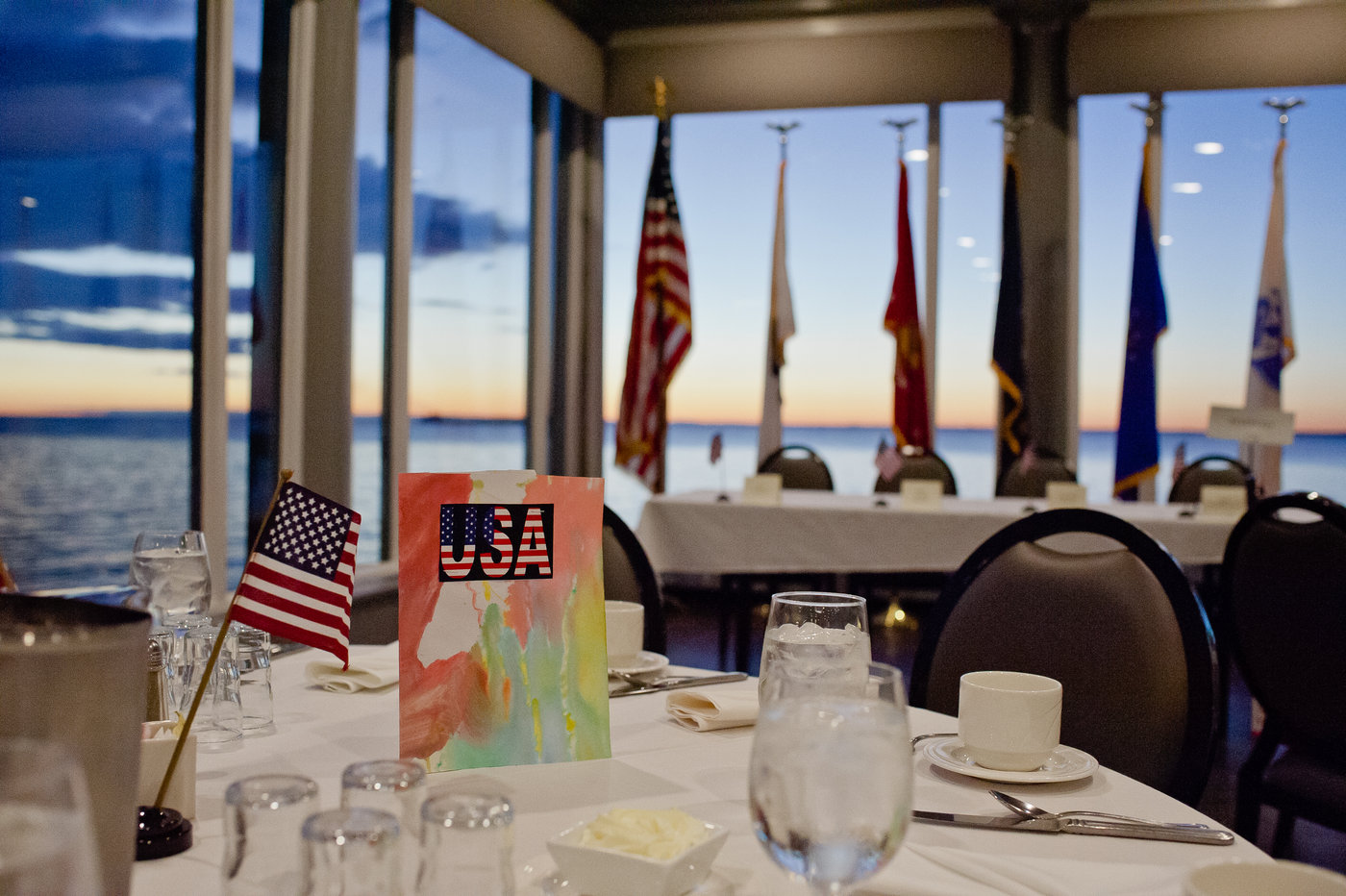 Veterans Day Title Sponsor - Put your name on a major service event as the title sponsor of our annual Veterans Day Breakfast.$5,000+
