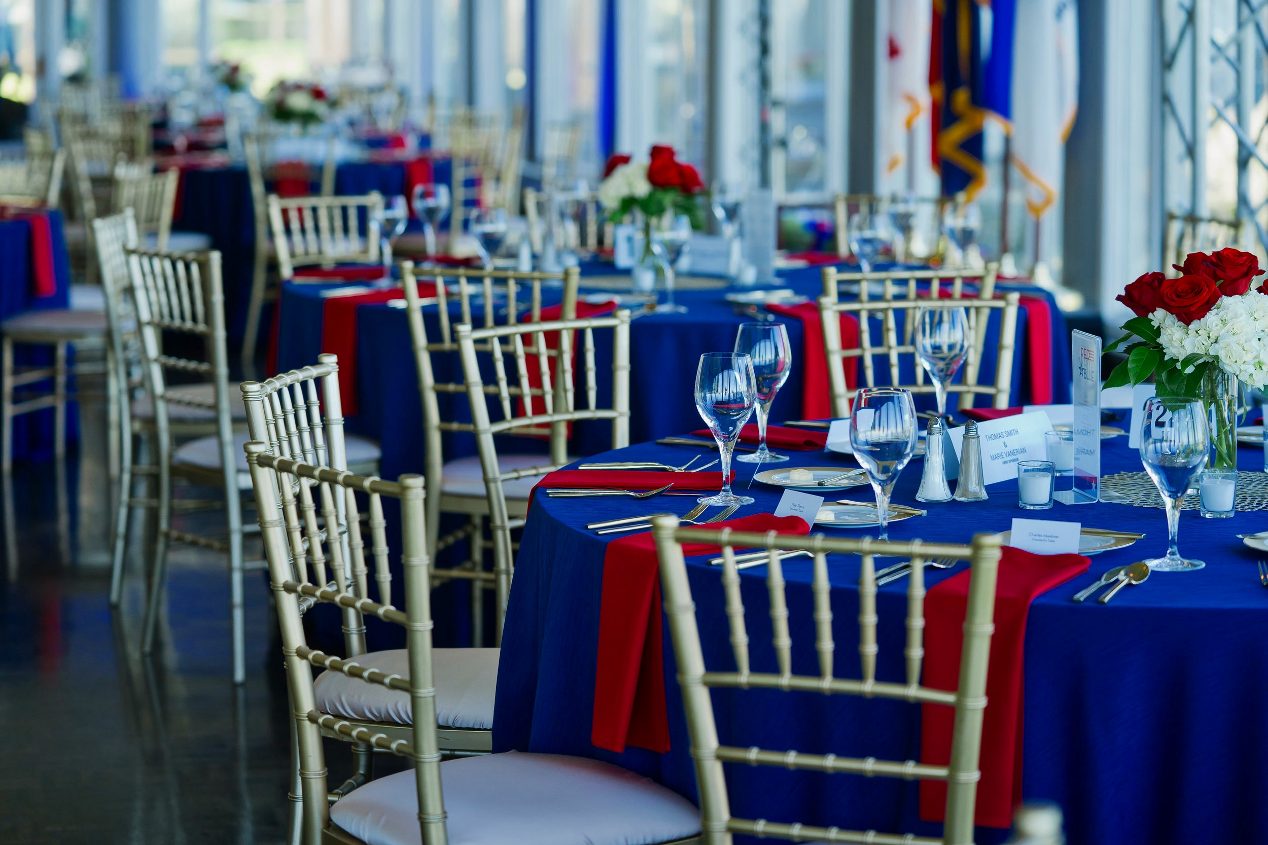 Attend our Annual Gala - Purchase your tickets for An Evening of Red, White, and Blue, held each year during Memorial Week.$200+