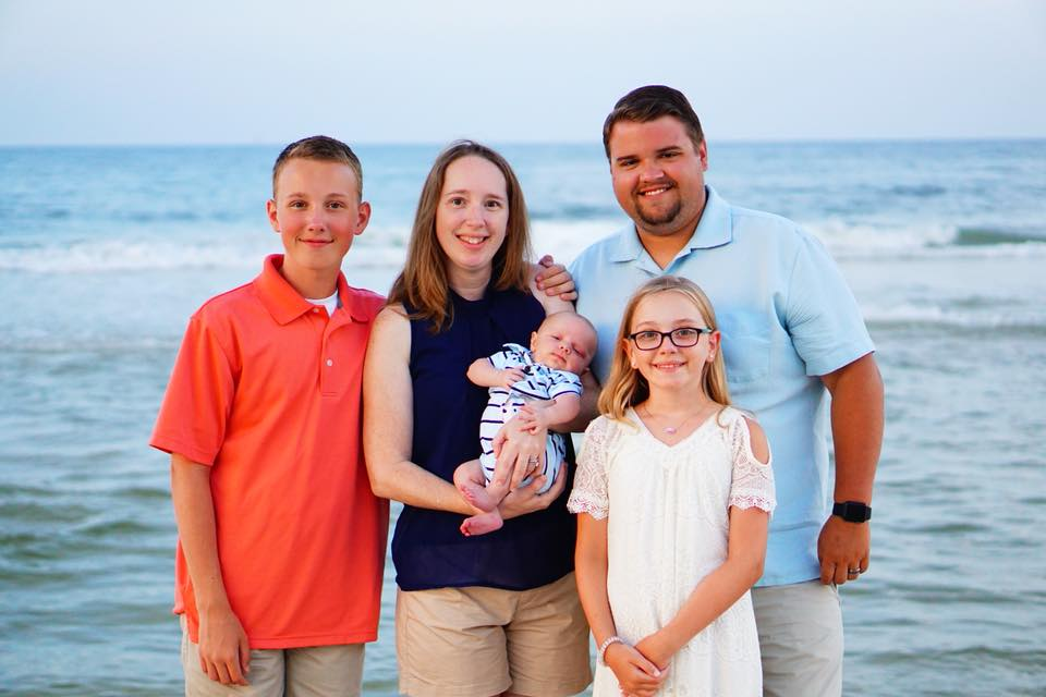 Youth Minister Paul Wisdom Jr. and Family -