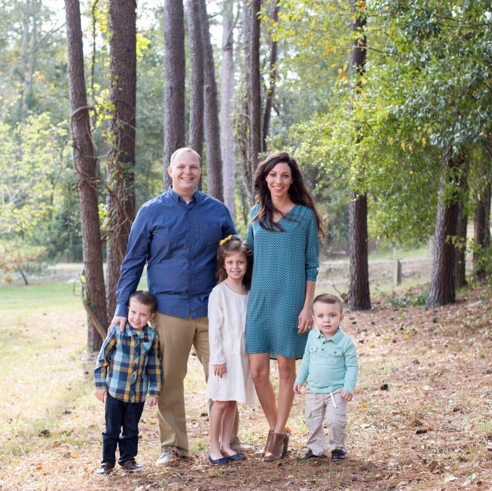 Pulpit Minister Jeremy Sigle and Family -