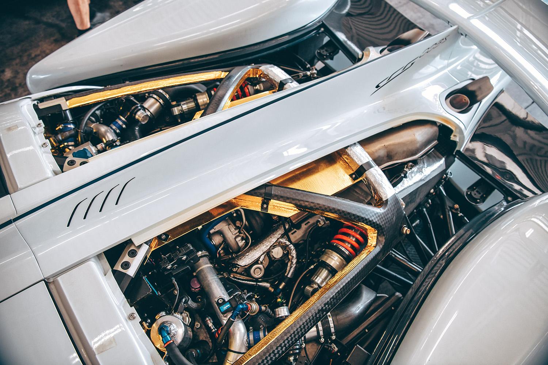 SCG 003S BMW 4.4 liter TT 700 HP engine