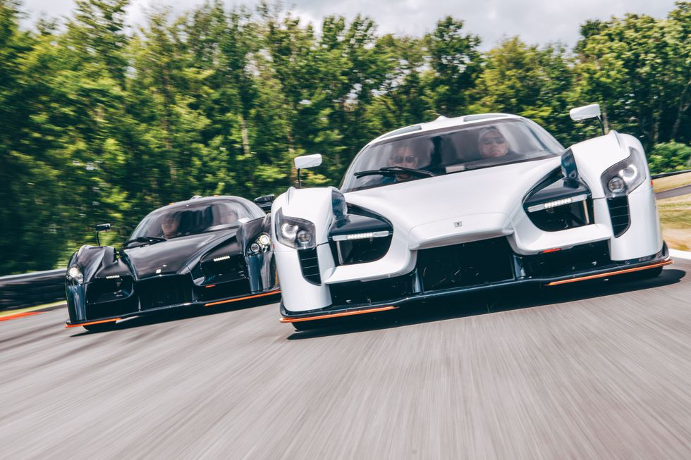 SCG 003S and 003CS Driving Monticello Motor Club