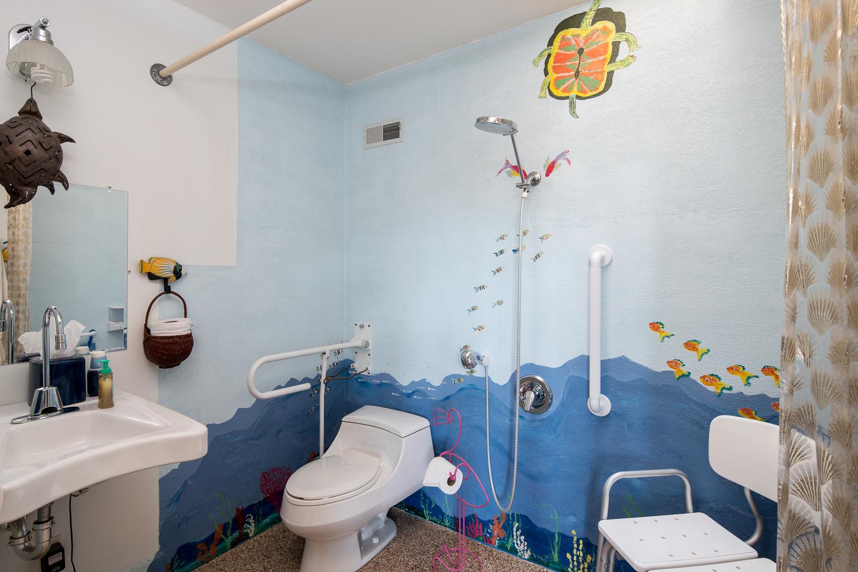 Ocean Half Bath