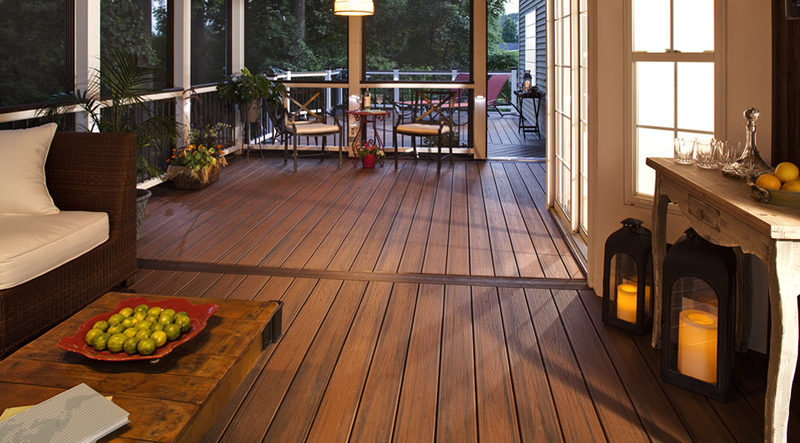 Wood Like Composite Deck