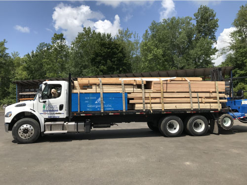 Genesee Lumber makes lumber delivery and building material delivery to Batavia, NY_Buffalo, NY_Rochester, NY_and the entire Western NY Region