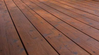 Treated Wood Deck from Genesee Lumber