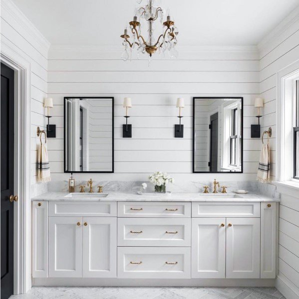bathroom shiplap
