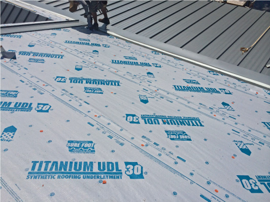 Roof Underlayment and Roof water and ice barrier