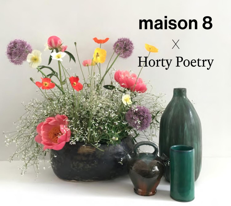 june 2018 flower pop up - Maison 8 - interior design studio / Brussels / at the invitation of Cecile bouchat-grosjean