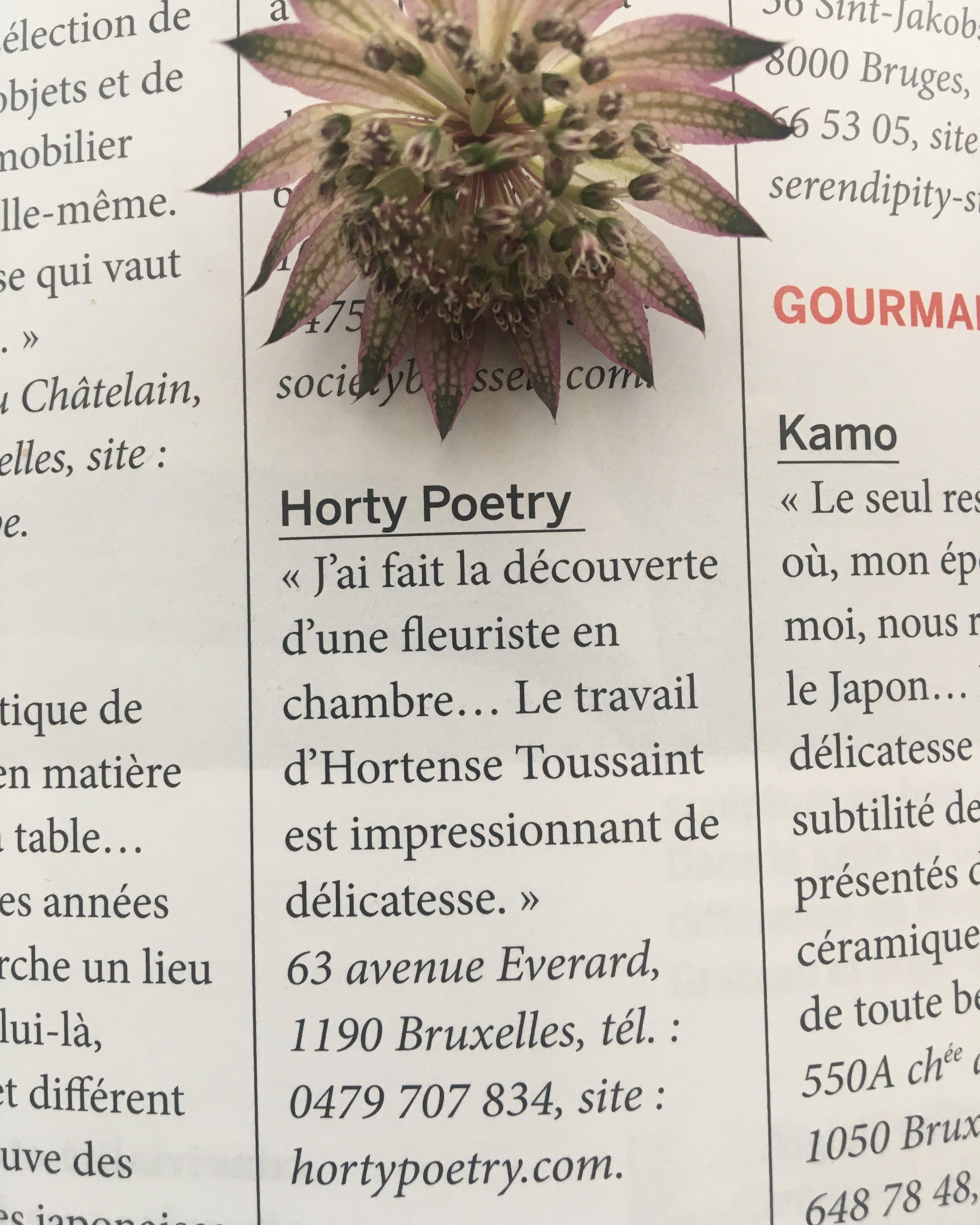j&vmagazine 05|2019 - L' Art de Vivre franco-belge | Les bonnes adresses d'I. Yamamoto by Agnès Zamboni | www.jvmagazine.be