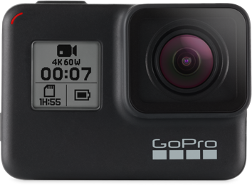 GoPro HERO7 Black - Super smooth video capture while on the run.
