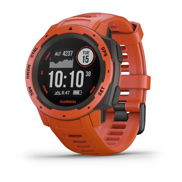 Garmin Instinct - Rugged GPS watch built to withstand the toughest environments.
