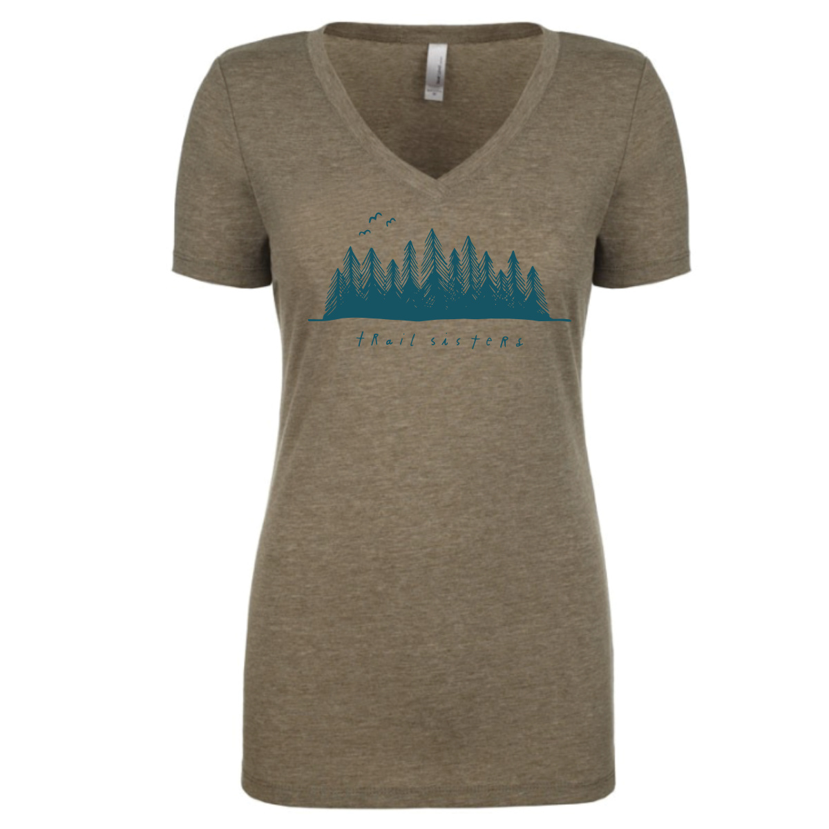 Trail Sisters Forest T-Shirt - Who doesn't love slipping into a super soft tee after a long workout on the trails? Comfort is king, and sporting a rad Trail Sisters Peaks Graphic Tee doesn't hurt either. **Limited Availability**