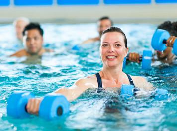 Aqua Aerobics/Aqua Fit - Aerobics - use the resistance of the water to give you an intense workout while still being gentle on your joints. Fit - super fun, low impact but high intensity workout in the water. You will improve your flexibility, strength, muscle tone and improve your fitness.Duration - 45mins
