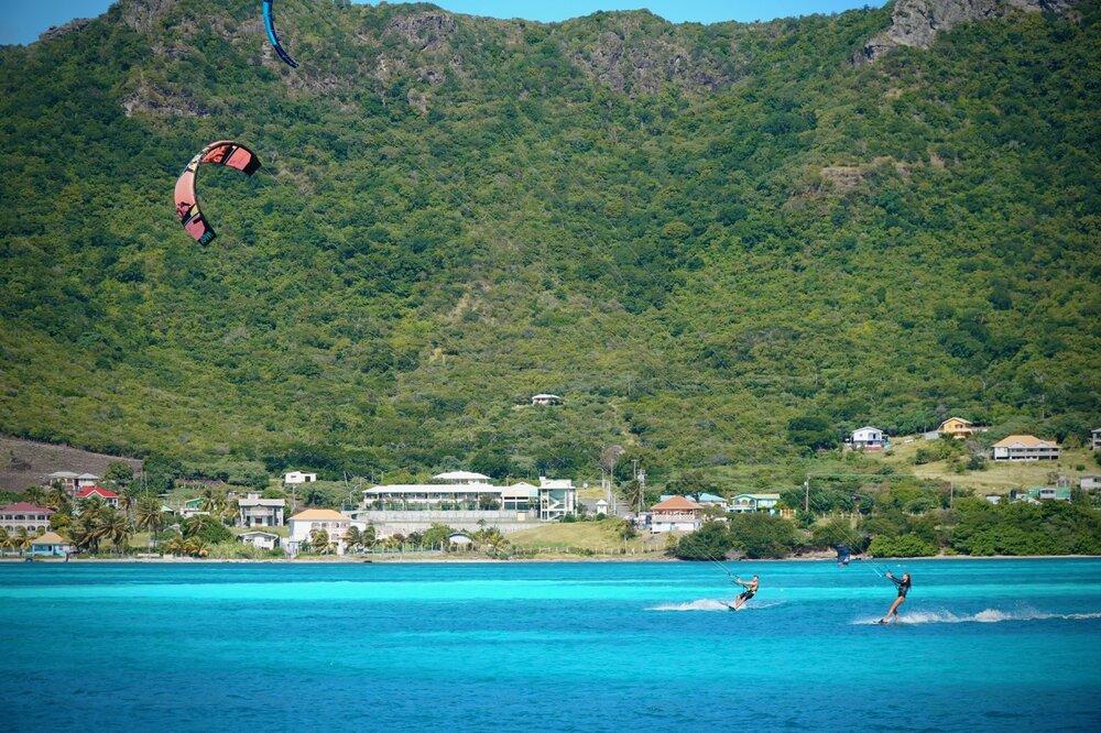 kiteboarding grenadines