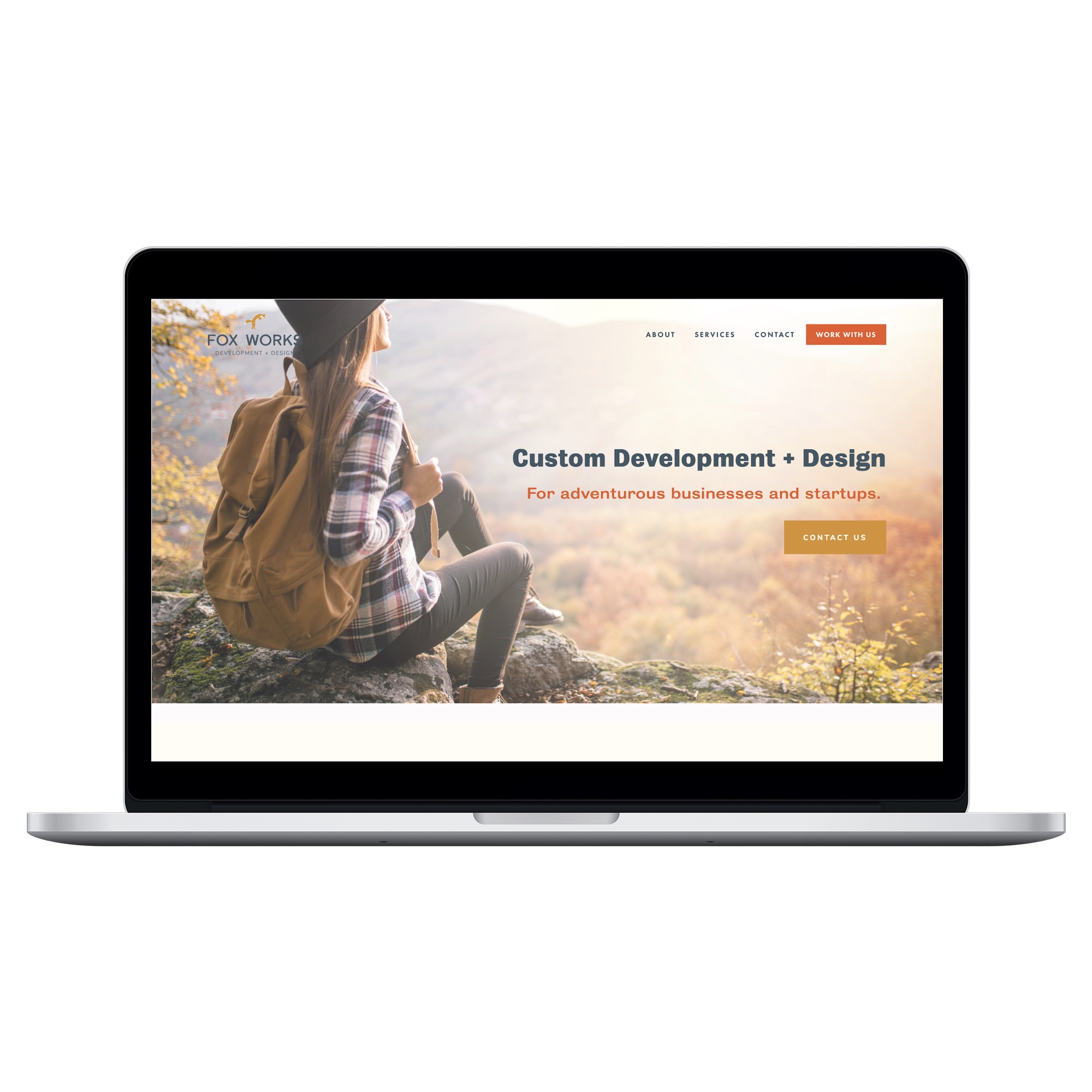 Web + Brand + Copy - For creative small business, Fox Works