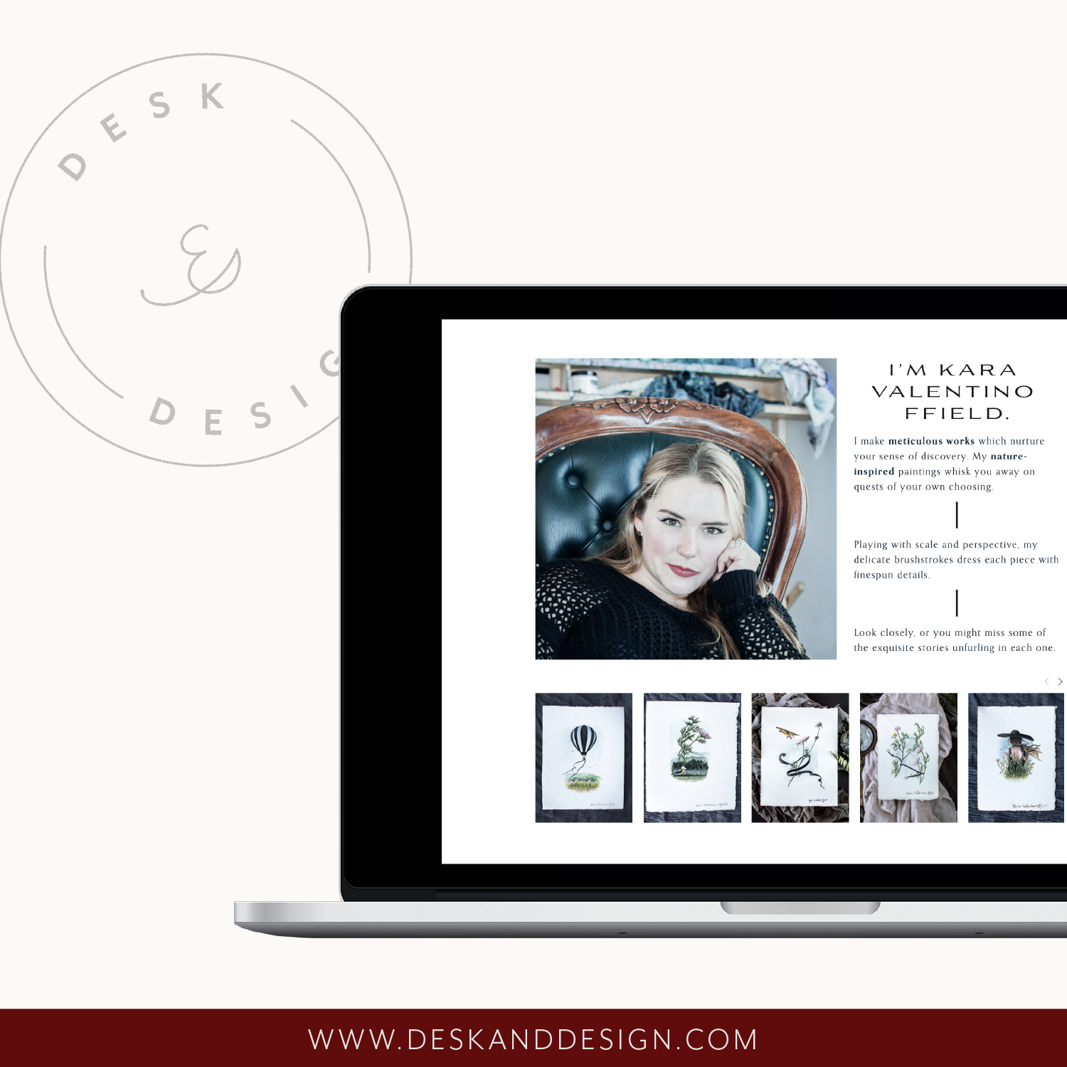 Desk and Design. Brand, web design, and copywriting for creatives.png