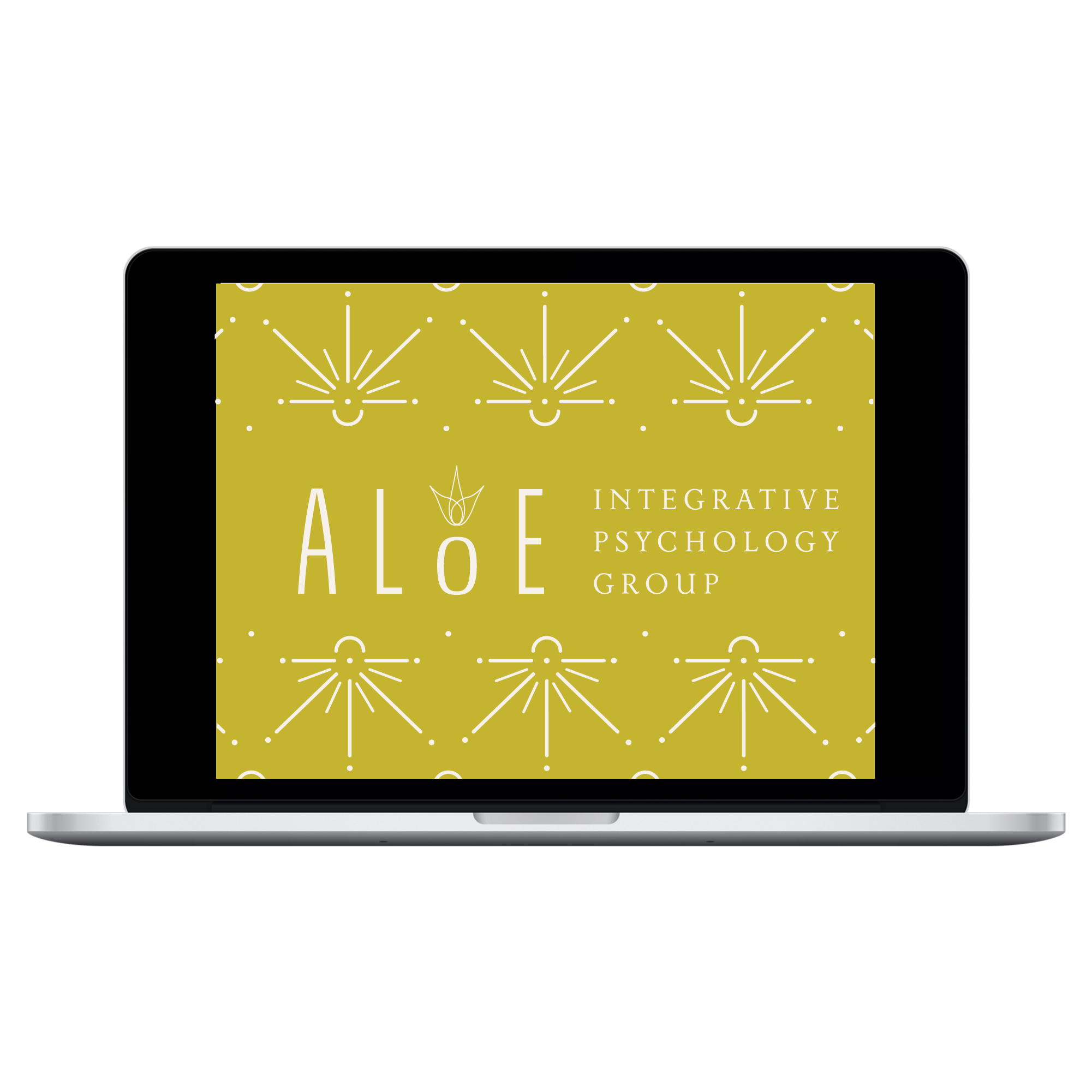 Branding - For Dr. Nicole Law of Aloe Integrative Psychology Group