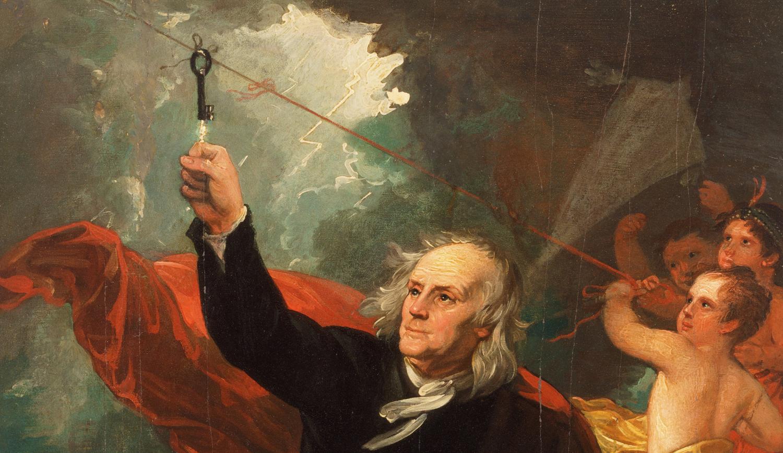 Benjamin Franklin (lightning).jpg