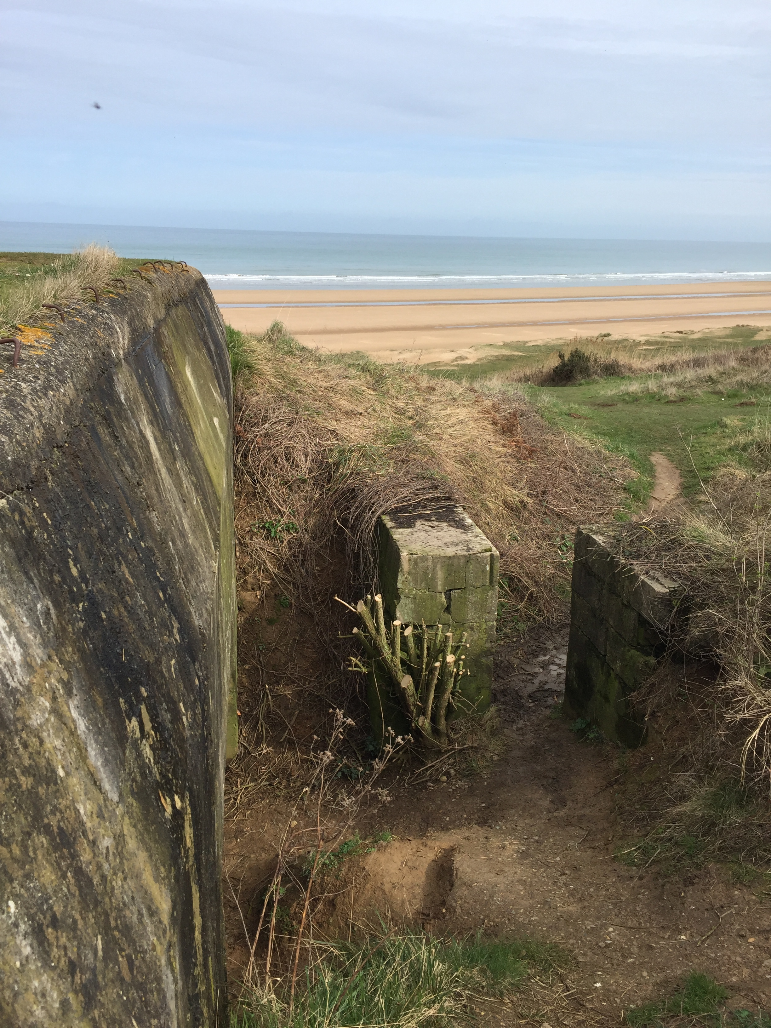 Omaha Beach (German Bunker)