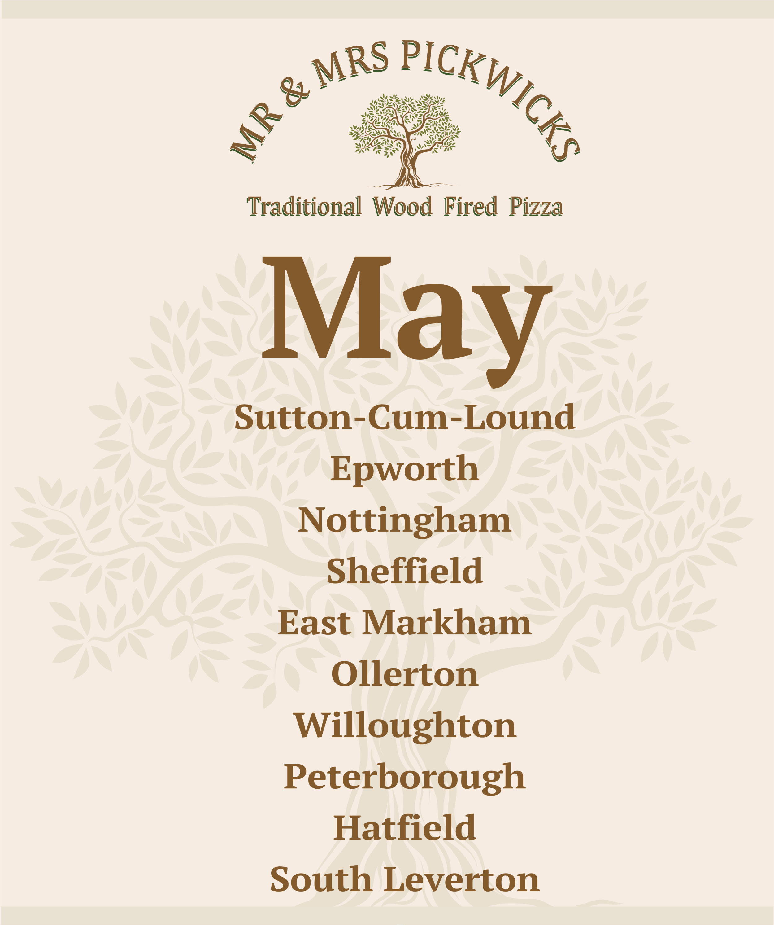 May - We've had a cracking start to the month of May:A sell out at The Carpenters Arms, WestwoodsideA sell out Fake Fest in DoncasterA private Christening Doo in Sturton By StowHere's where you'll find us popping up over the rest of the month, keep your eye out for our public events and, with a bit of luck, Henrietta May be making an appearance 🍕🍻🌞Keep an eye on our Facebook page for event details www.facebook.com/thepickwicks1