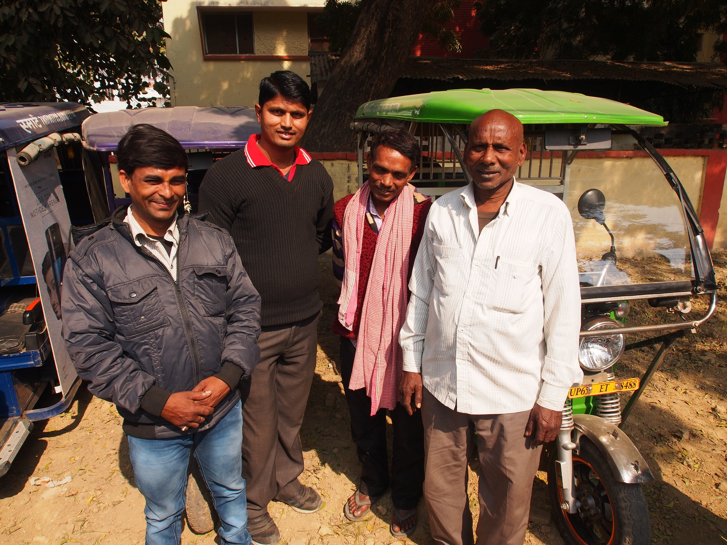 SMV Green is company that connects individuals in poverty with lease-to-own electric rickshaws. Through this model, new rickshaw owners effectively drive themselves out of poverty as new owners of productive assets rather than renting vehicles at exorbitant rates.