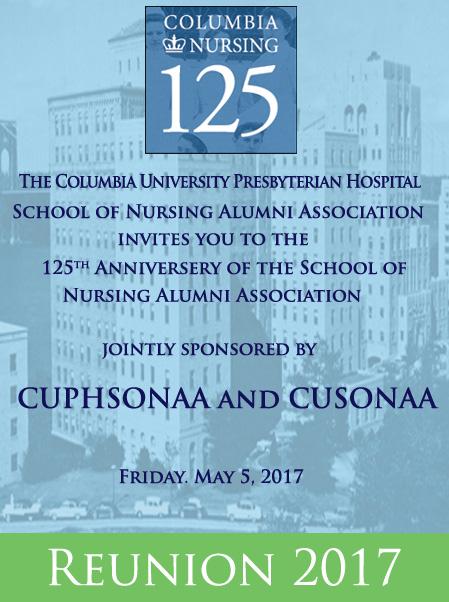 Columbia University Presbyterian Hospial 125th Nursing Reunion