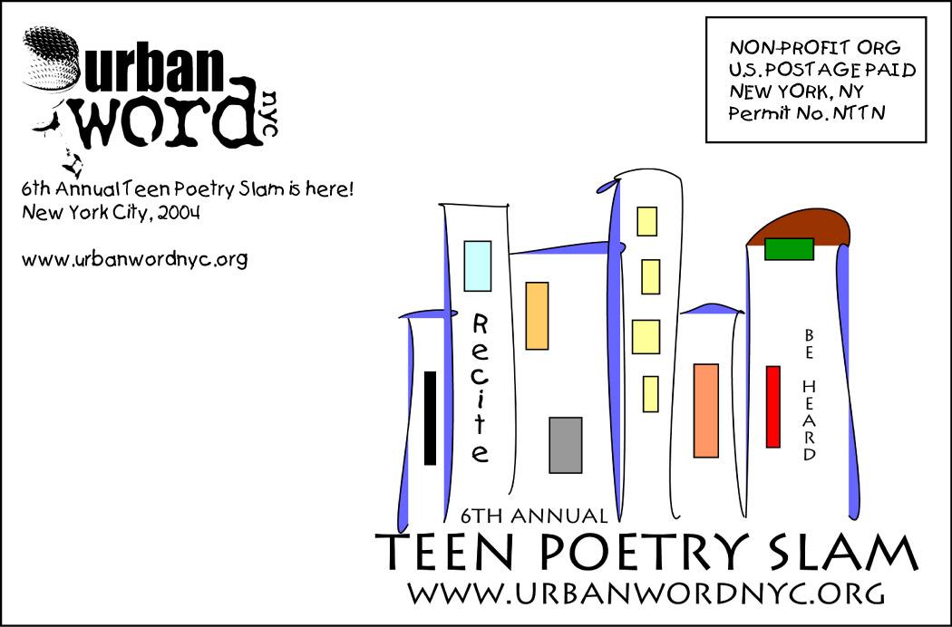 Postcard design for Urban Word