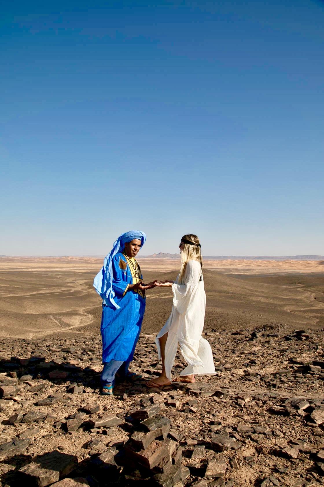 Consciously Connected Travel - Merzouga Desert, Morocco