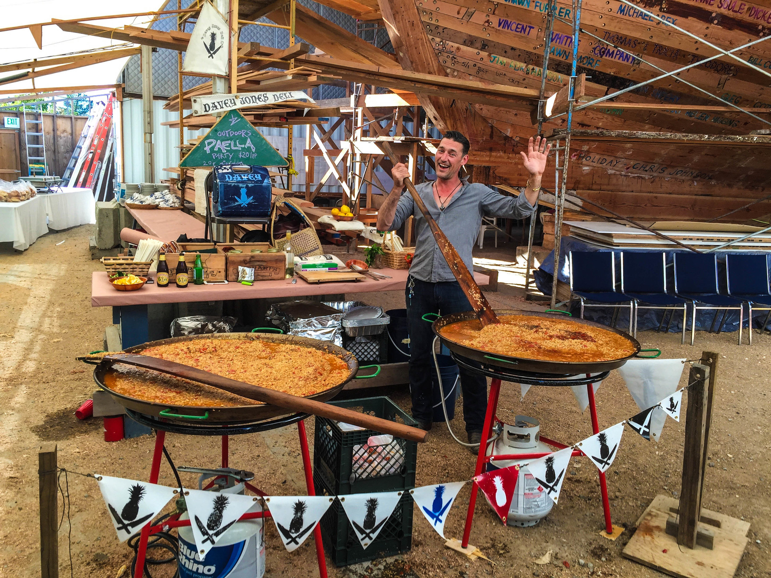 Matthew Turner Tall Ship - Paella