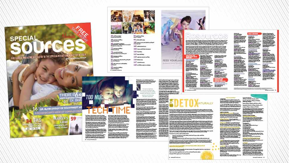 128-page Special Needs Resource Magazine