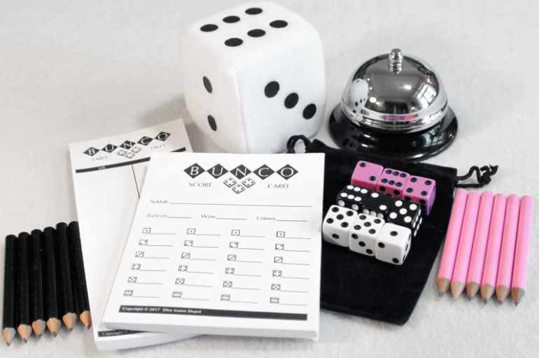Bunco - Patricia Redmann, CoordinatorLet the good times roll--toss three dice and let the fun begin!