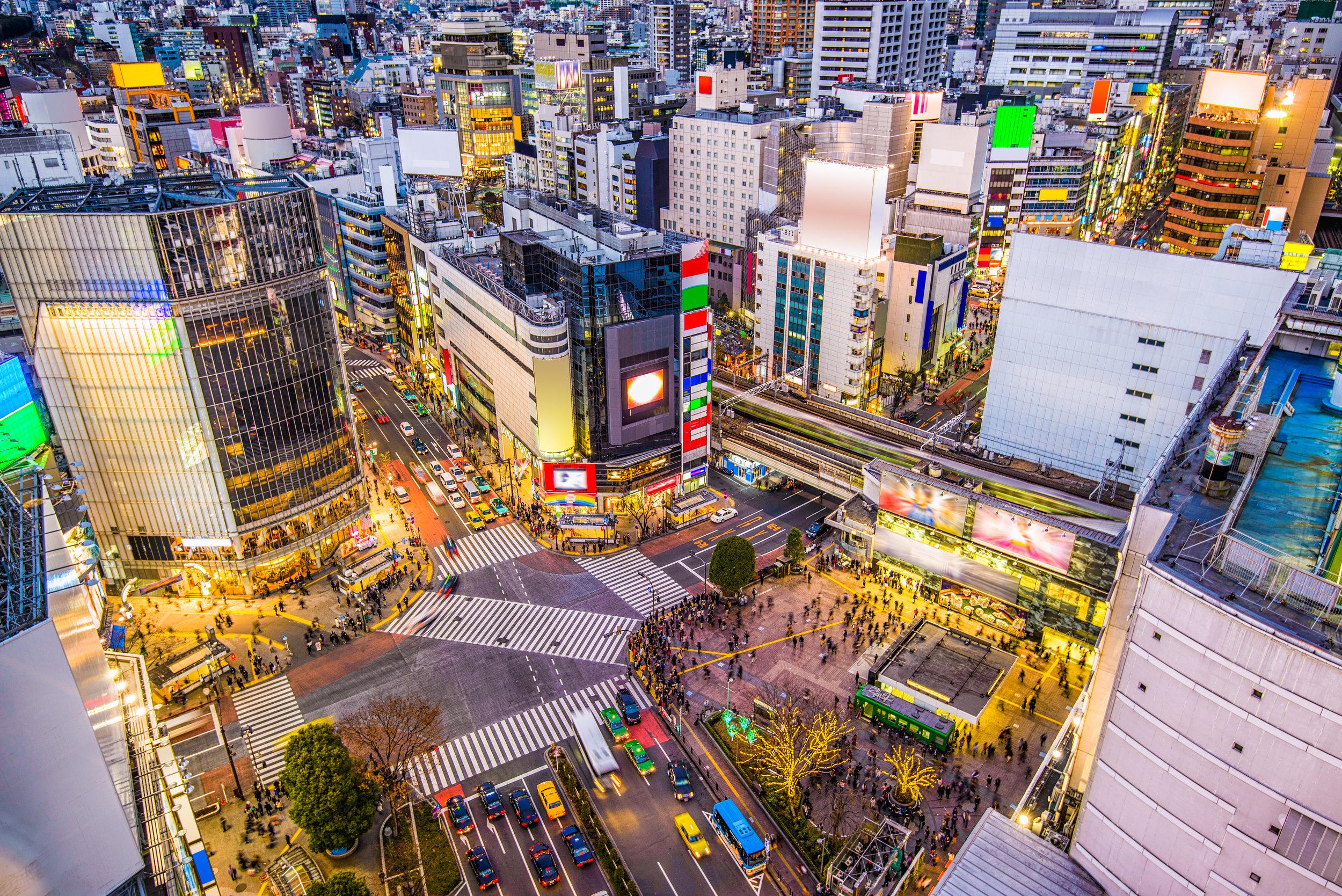 Tokyo - SPACES Sega Joypolis - Building 109