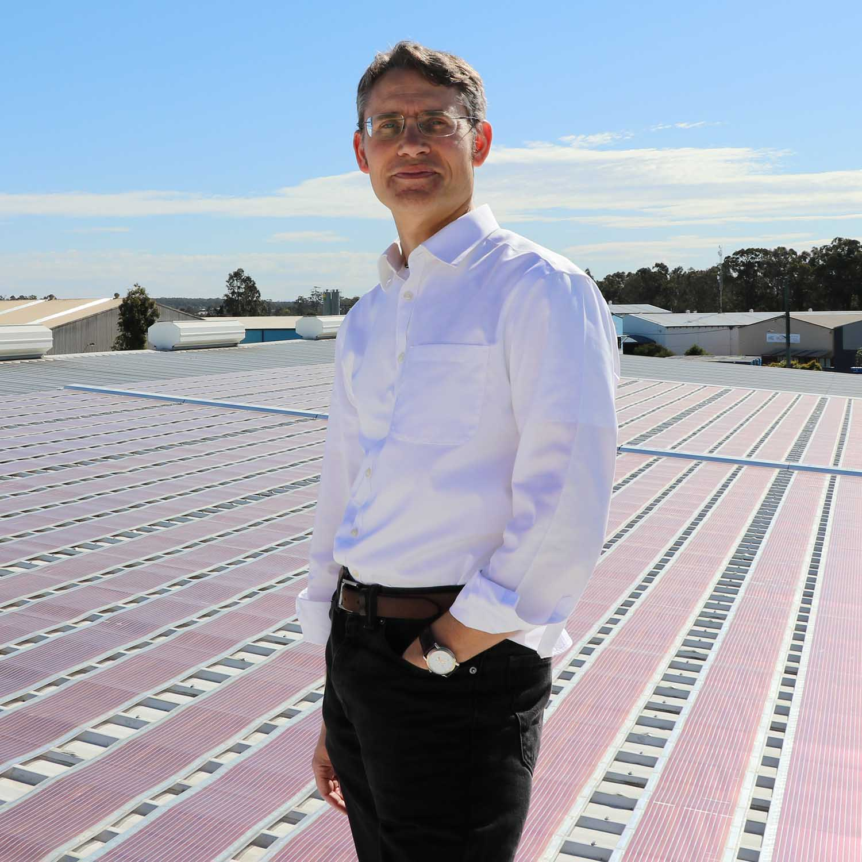 Paul Dastoor, Solar Filed, Image courtesy of the University of Newcastle.