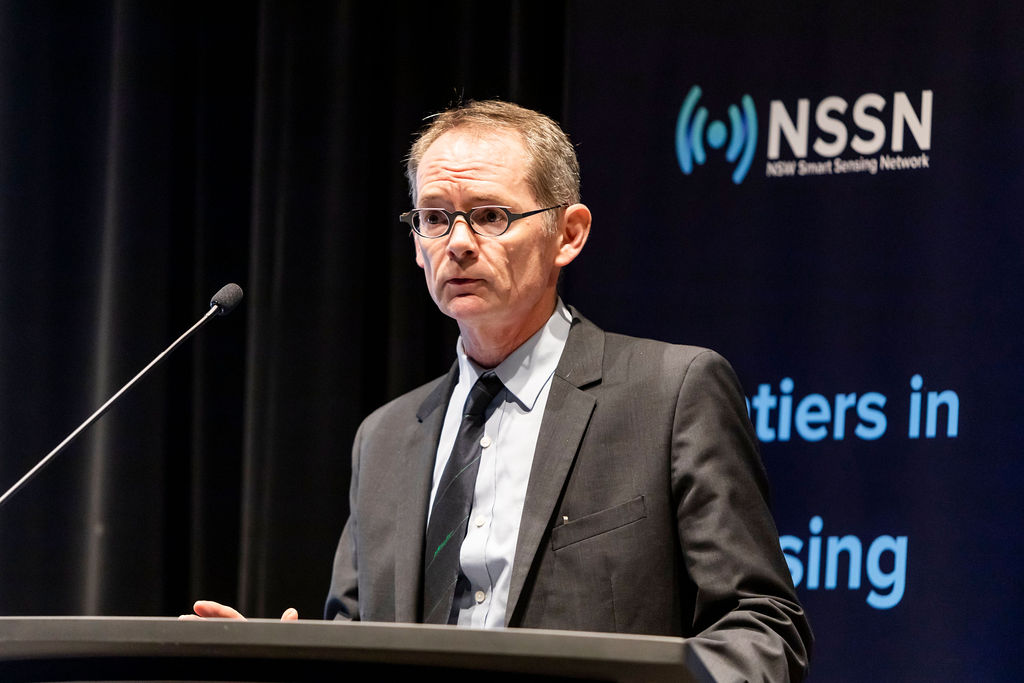 UNSW Scientia Professor and NSSN co-director Professor Justin Gooding.