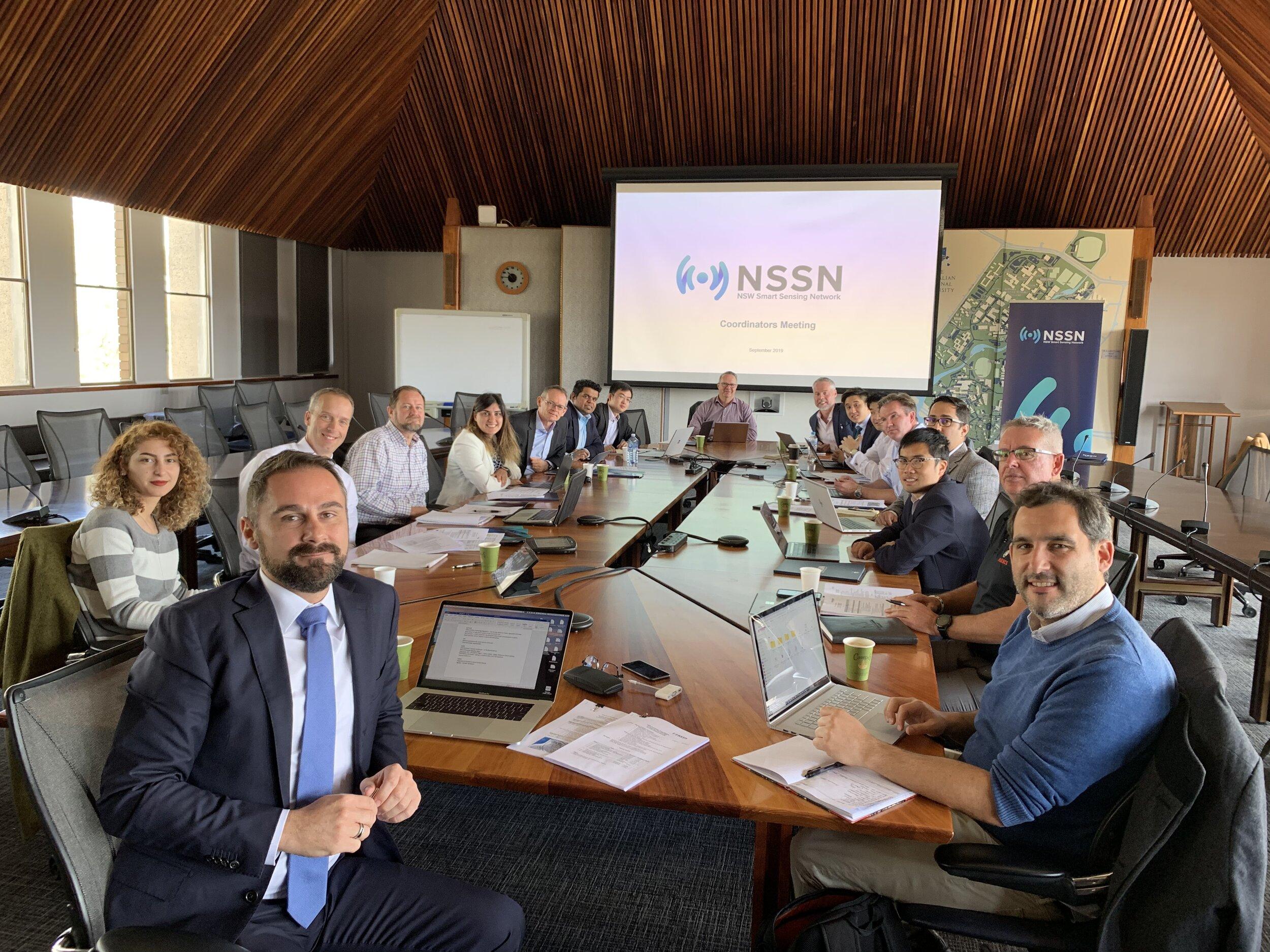 NSW Smart Sensing Network at the Australian National University