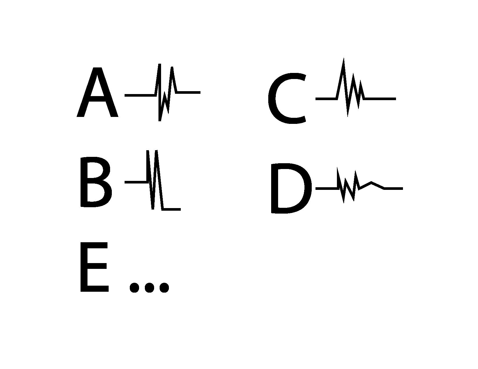 Figure 1 : Alphabet