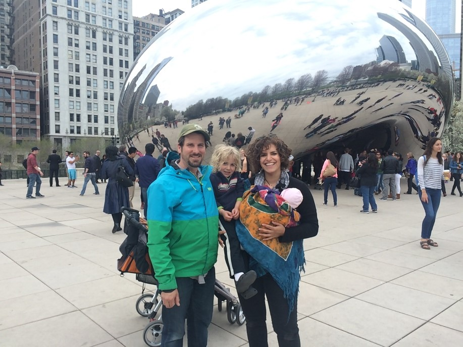 In Chicago with the family for the major education conference, American Educational Research Association (AERA)