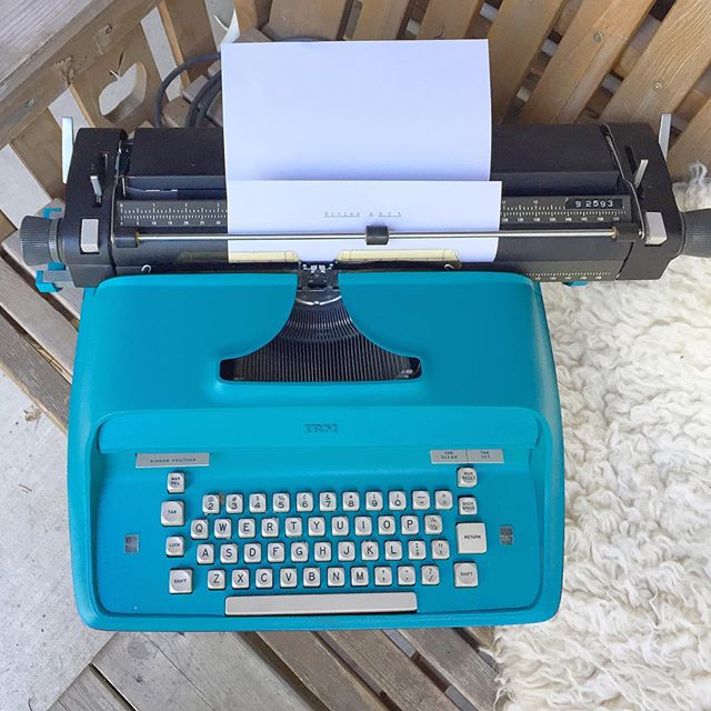 Name the Typewriter!📄 Instagram, meet the newest member of the Bibles & Art family!  My Mexican (aka Set, my husband) was sweet enough to surprise me with this beauty, and then give it a makeover 😍. I'm so in love - I totally understand what all the typewriter fuss is about!  He/She needs a name though! Comment below ⤵️- tell me what you think we should call this new typewriter, and what it's story is (what do you imagine it's previous job was? And what do you think it's #lifegoals are now, post-makeover? 🤣). The Mexican and I will choose one winning entry and send you some Bible Journaling goodies!  Naming contest will run through Sunday June 16th, 2019, open internationally, not affiliated with insta and all that jazz.  #biblesandart #typewriter #typewriters #typewriting #typewritten #typewriterpoetry #typewriterart #bibleart #biblejournaling #bibleartjournaling #biblejournalinglife #biblejournalingcommunity #illustratedfaith #illustratedfaithcommunity #communityofchristiancreatives #artjournal #faithart #documentedfaith  #artworship #ipaintinmybible #icolorinmybible #calledtobecreative