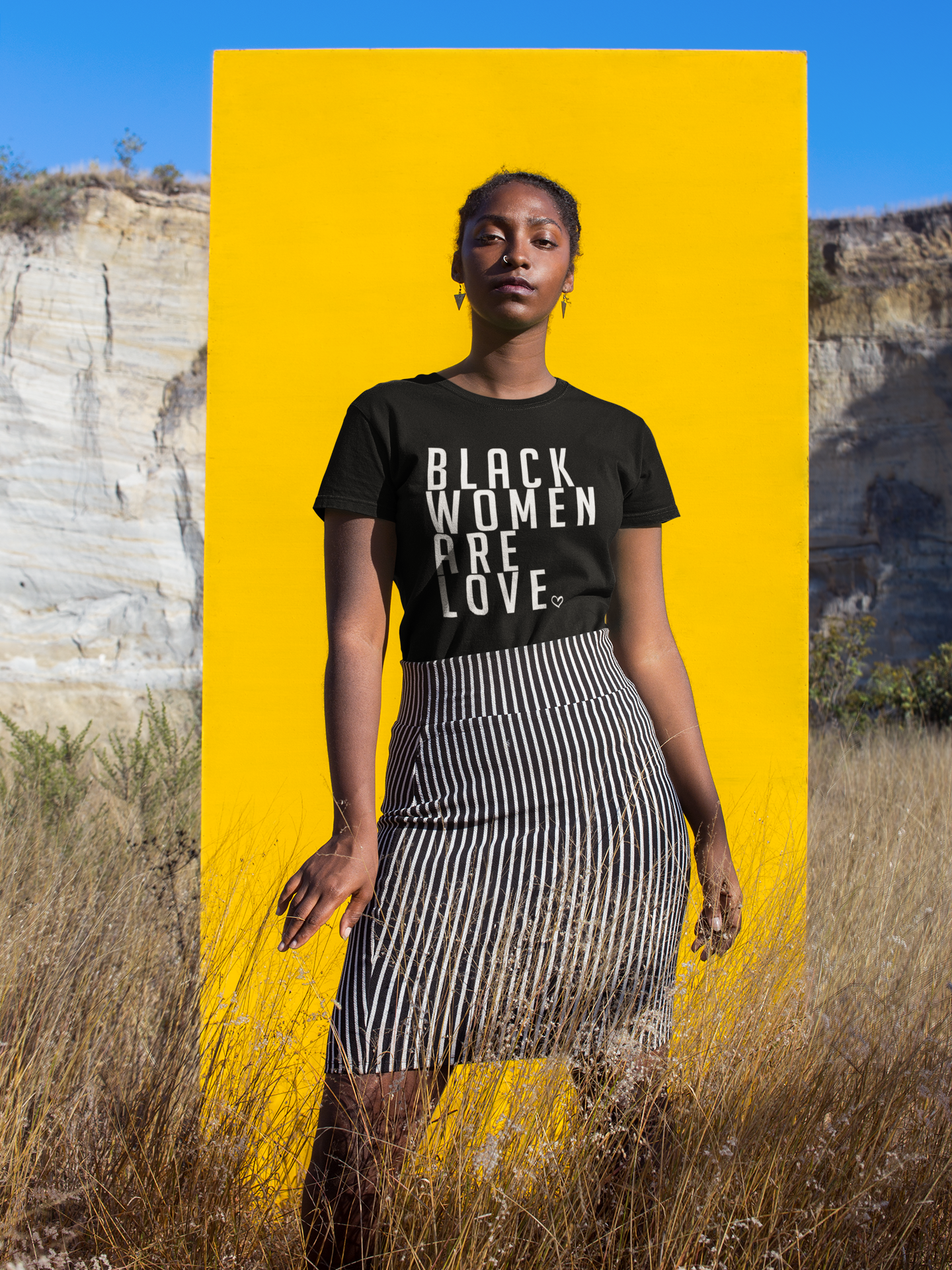 This is about us. - As Black women.As Whole Humans.As beautiful Individuals.As Love.