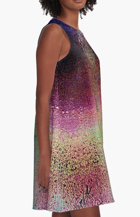 """Celestial Totem"" A-Line Dress"