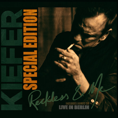Above: album art for Kiefer Sutherland's  Reckless & Me Special Edition