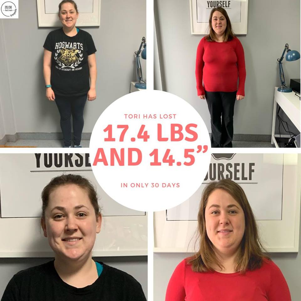 Tori Bird is 90 days in and has lost a total of 31.4lbs!